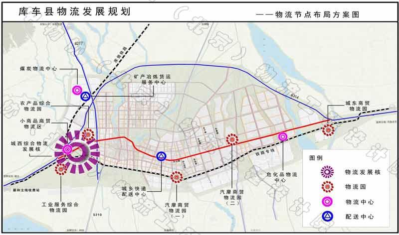库车县物流发展规划