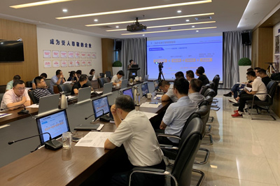 中物协培训中心为合肥宝湾国际进行智慧物流与供应链系列专业