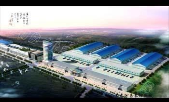 黑龙江昌泰物流城规划方案设计