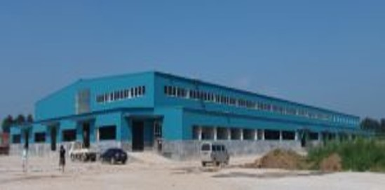河北阜城3000噸氣調庫