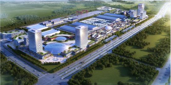 黑河国家枢纽项目商业策划、修建性详细规划