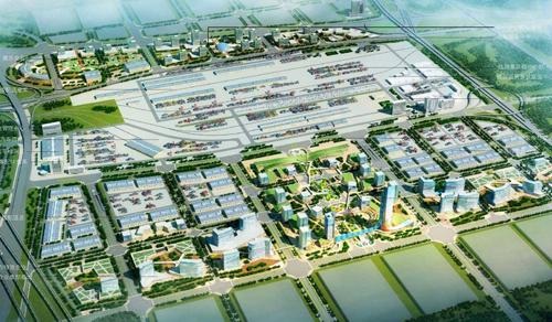 大郑州国际陆港建设研究
